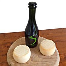 Livertin 200 g - Formaggio di capra alla Birra Artigianale Sagrin