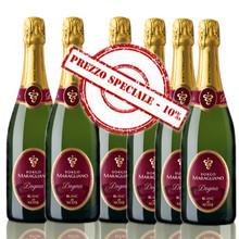 Offerta Speciale Scatola da 6 bottiglie Dogma Blanc de Noirs Metodo Tradizionale