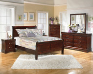 Alisdair 4 Pc.Full Sleigh Bedroom Collection