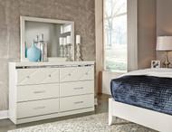Dreamur Dresser & Mirror