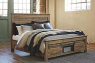 Sommerford Brown Queen Storage Bed