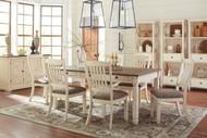 Bolanburg Antique White 11 Pc. Rectangular Dining Set