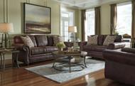 Breville Espresso Sofa, Loveseat & Rocker Recliner