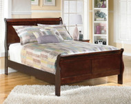 Alisdair Dark Brown Full Sleigh Bed