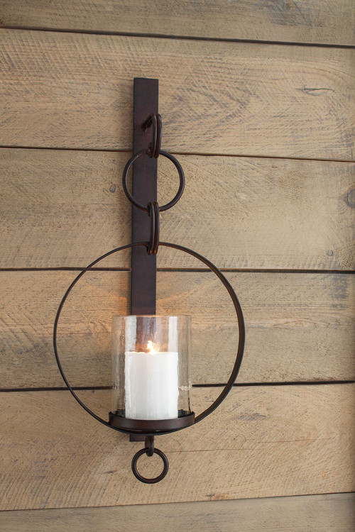 Ogaleesha Brown Wall Sconce sold at Hilton Furniture serving Houston ...