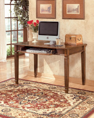 Hamlyn Medium Brown Home Office Small Leg Desk