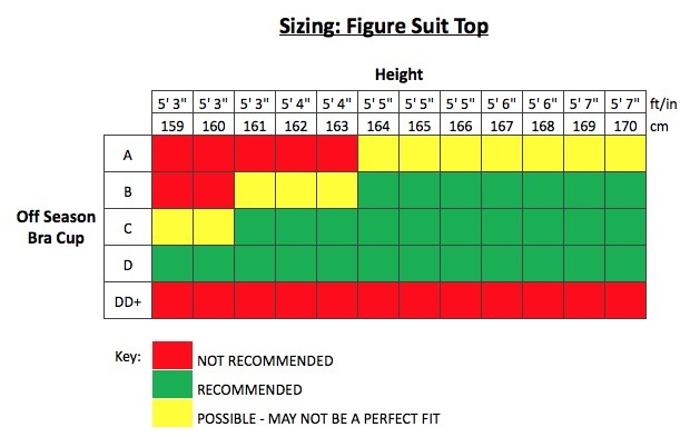 Ready Made Figure Competition Suit (FS403RM)