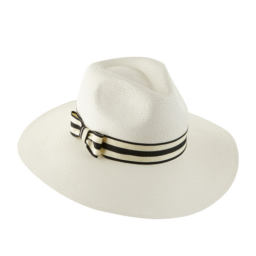 Ladies Large Brim Trilby - shown in Natural