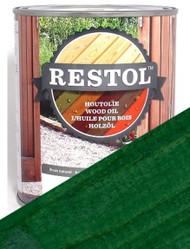 Restol Wood Oil in Pine Green