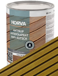 Horva ANTISLIP in Garden Timber Green