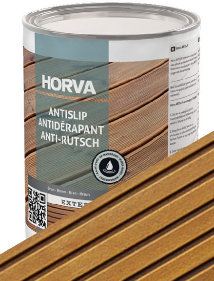 Horva ANTISLIP in Natural Brown