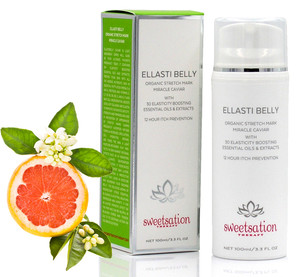 Ellasti Belly Organic Stretch Mark Miracle Caviar