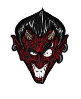 Devil Black Red