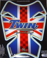 Triumph Twin British Flag Pad