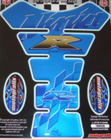 Kawasaki Blue Nina Gold R Tank Pad