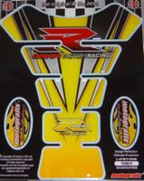 Suzuki GSXR Yellow Black GSXR Racing Pad