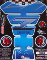Kawasaki Blue Z Series Tank Pad