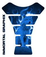 Fire Wolf Blue