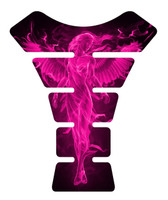 Fire Angel Pink Motorcycle Tank Pad Protector