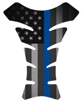 Fallen Officer Black Flag Motorcycle Tank Pad Protector