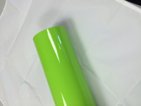 Lime Green Vinyl Material for Decals