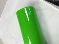 Apple Green Vinyl Material for Decals