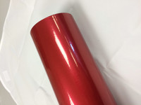 Red Metallic Vinyl Material for Decals
