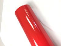 Red Reflective Vinyl Material for Decals