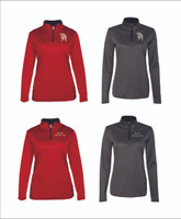 Women's 1/4 zip Pullover 100% Polyester