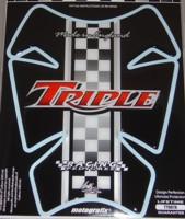 Checker Flag Triple