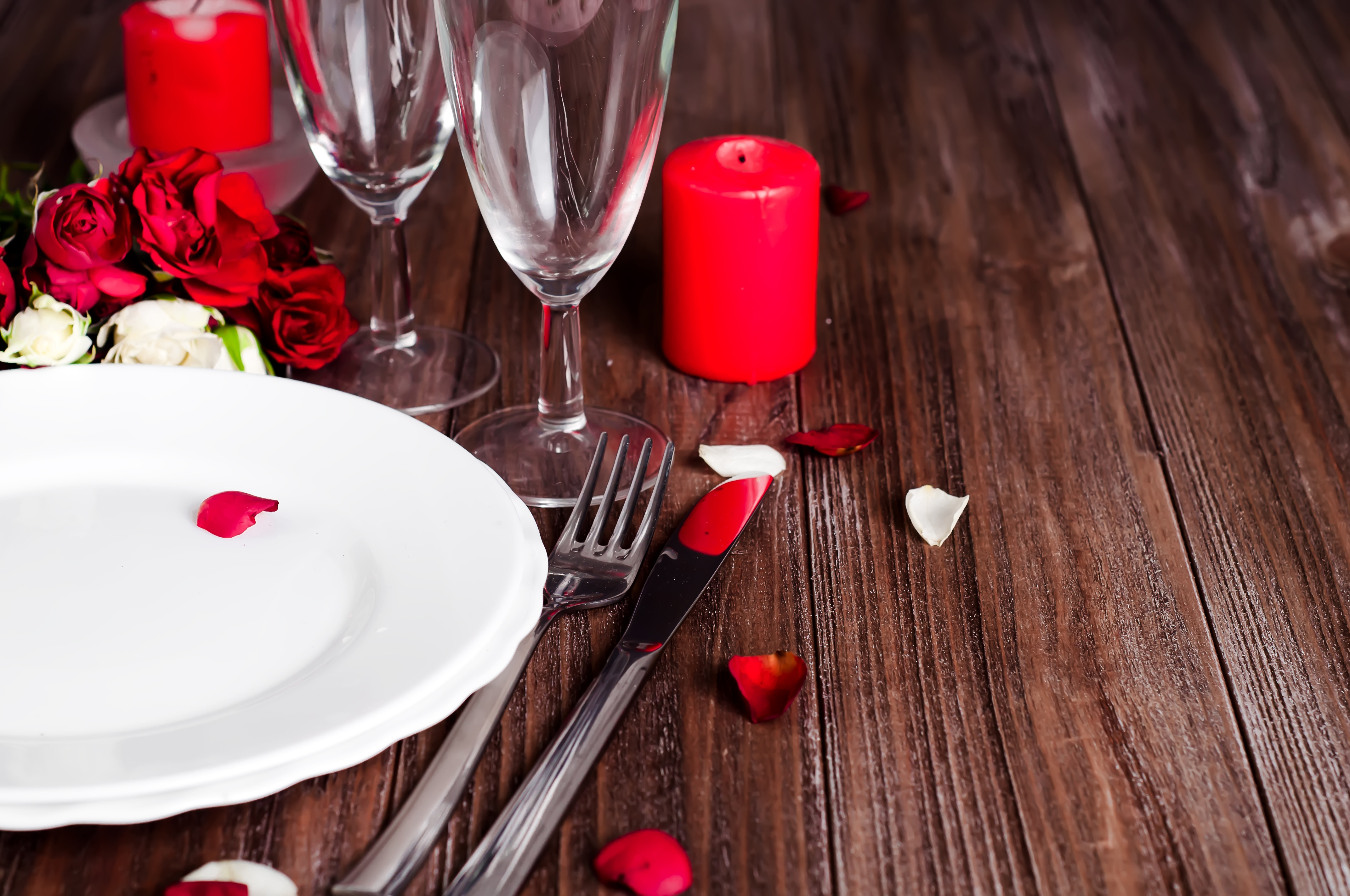 Valentine's dinner image