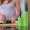 Kapoosh Lime Green Knife Block