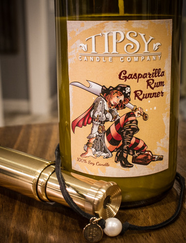 Gasparilla Rum Runner | Soy Candle | Tipsy Candle Company