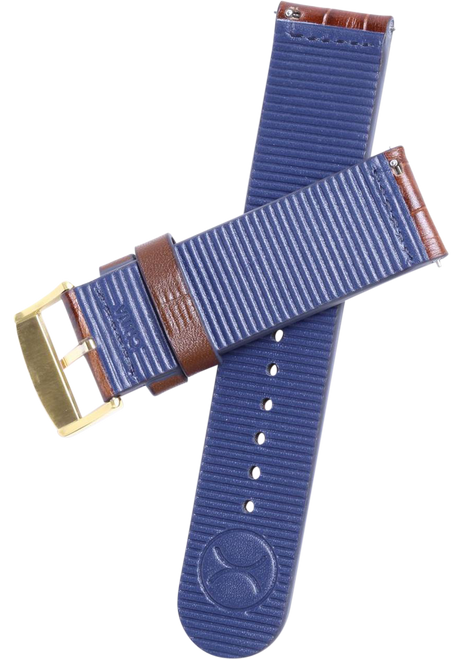 Xeric 22mm Gold PVD Plated Mesh Strap (XS3024M-STRAP)