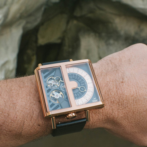 Xeric Soloscope Automatic Rose Gold Limited Edition (SLA-3018)