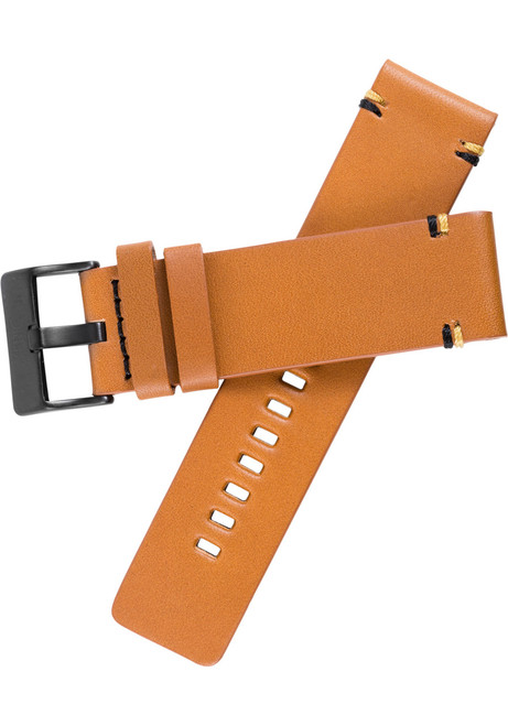 Xeric 24mm Smooth Tan Leather Strap (XRC-XS2-24-TNBK