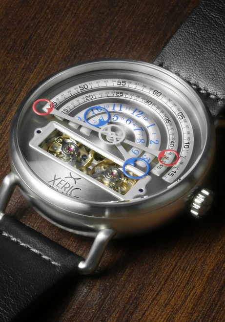 Xeric Halograph Automatic Silver (HLG-3016)