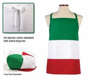 Italian bib apron
