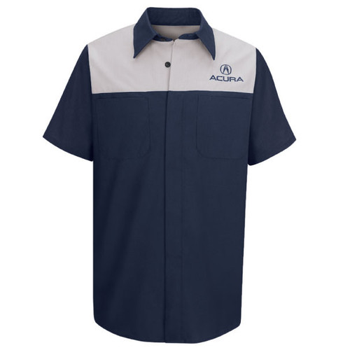 Acura automotive tech uniform shirt