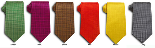 Stain resistant dual toned ties