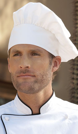 Original chef hat with adjustable strap