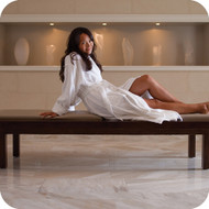 Classic shawl bathrobe for every hotel room!