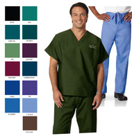 Scrub pants with a drawstring for men or women!