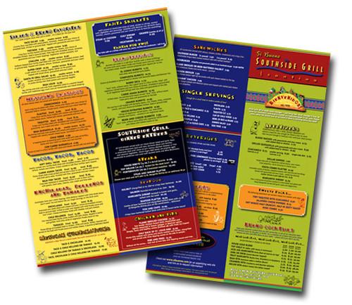 Vibrant Menus for your restaurant