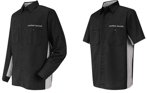 Embroider employee names to this shirt!
