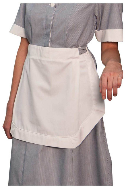 Apron for a housekeeping dress to finish the look.