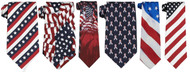 Patriotic Uniform Ties