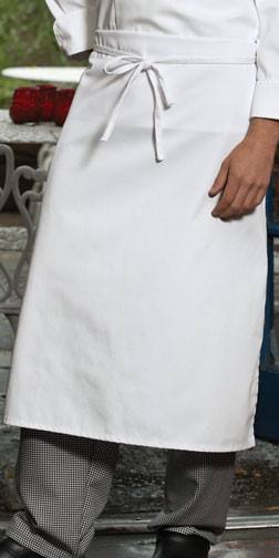 Long waist apron