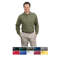 Classic polo shirt with long sleeves