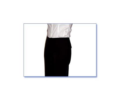 Hip low rise tuxedo pants